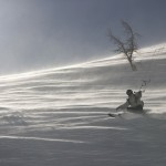 Johann Civel snowkite guide