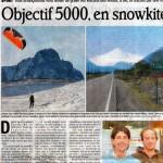 record d altitude Argentine , le dauphiné