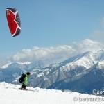 freeride snowkite